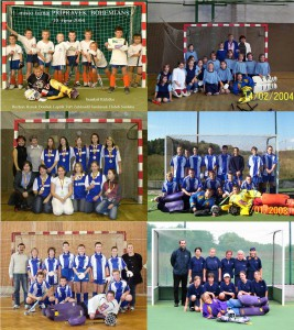 Některé naše týmy z období kolem roku 2003