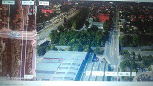 Bývalé fotbalové hřiště v Hostivaři, kde se odehrálo památné utkání