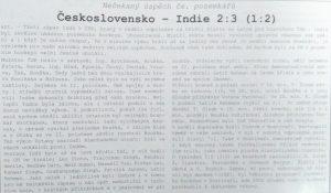 z knihy 100 let pozemního hokeje prom.fil. Jana Vaňka