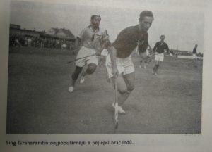 Pan Jaroslav Kadlec a hvězda olympijských vítězů B. Singh